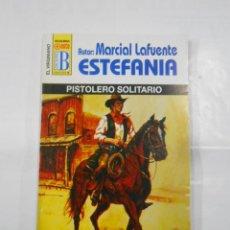 Libros de segunda mano: MARCIAL LAFUENTE ESTEFANIA Nº 1073. PISTOLERO SOLITARIO. SERIE COLECCION EL VIRGINIANO. TDK309. Lote 115913279