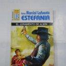 Libros de segunda mano: MARCIAL LAFUENTE ESTEFANIA Nº 1058. EL JURAMENTO DE ALWIN. SERIE COLECCION EL VIRGINIANO. TDK309. Lote 115913539