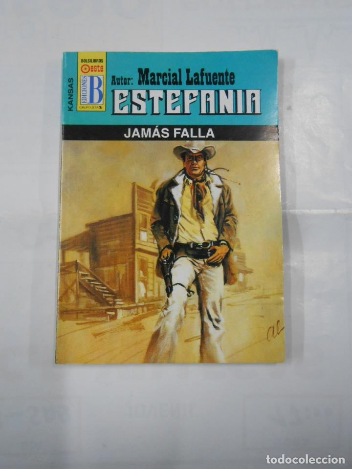 MARCIAL LAFUENTE ESTEFANIA Nº 1053. JAMAS FALLA. SERIE COLECCION KANSAS. TDK309 (Libros de Segunda Mano (posteriores a 1936) - Literatura - Otros)
