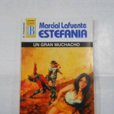 Libros de segunda mano: MARCIAL LAFUENTE ESTEFANIA Nº 1104. UN GRAN MUCHACHO. SERIE COLECCION EL VIRGINIANO. TDK309. Lote 115913759
