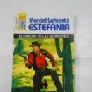 Libros de segunda mano: MARCIAL LAFUENTE ESTEFANIA Nº 1080 EL RANCHO DE LAS SERPIENTES SERIE COLECCION EL VIRGINIANO. TDK309. Lote 115914435