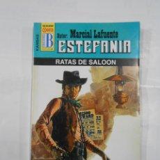 Libros de segunda mano: MARCIAL LAFUENTE ESTEFANIA Nº 1048. RATAS DE SALOON. SERIE COLECCION KANSAS. TDK309. Lote 115915367
