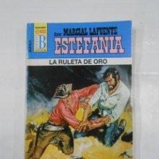 Libros de segunda mano: MARCIAL LAFUENTE ESTEFANIA Nº 1027. LA RULETA DE ORO. SERIE COLECCION BUFALO. TDK309. Lote 115916159