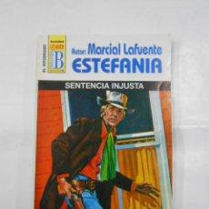Libros de segunda mano: MARCIAL LAFUENTE ESTEFANIA Nº 1077. SENTENCIA INJUSTA. SERIE COLECCION EL VIRGINIANO. TDK309. Lote 115932247