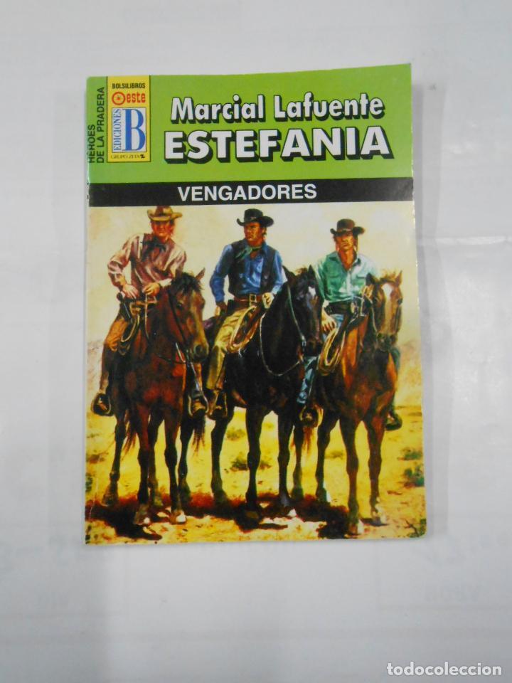 MARCIAL LAFUENTE ESTEFANIA Nº 1080. VENGADORES. COLECCION SERIE HEROES DE LA PRADERA. TDK309 (Libros de Segunda Mano (posteriores a 1936) - Literatura - Otros)
