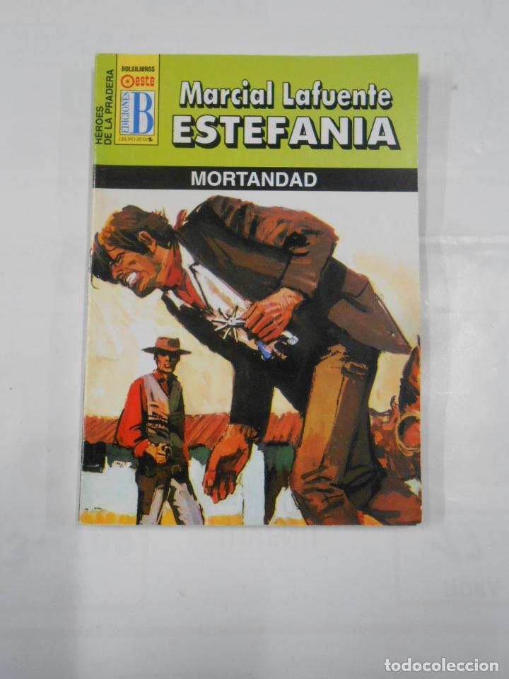 MARCIAL LAFUENTE ESTEFANIA Nº 1100. MORTANDAD. COLECCION SERIE HEROES DE LA PRADERA. TDK309 (Libros de Segunda Mano (posteriores a 1936) - Literatura - Otros)
