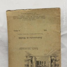 Libros de segunda mano: CUADERNO DE ESTUDIO, INSTRUMENTOS DE MEDIDA, CEDECO, 1949, MADRID. Lote 116078411
