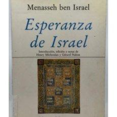 Libros de segunda mano: ESPERANZA DE ISRAEL. Lote 116085775