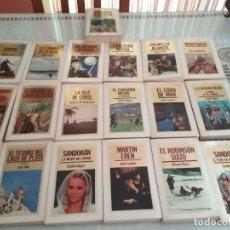 Libros de segunda mano: LOTE 19 LIBROS DE AVENTURAS, EDITORIAL ORBIS . Lote 116095671