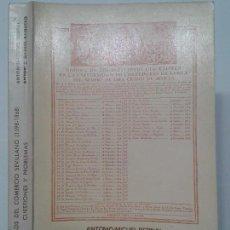 Libros de segunda mano: TRES SIGLOS DEL COMERCIO SEVILLANO (1598-1868) 1976 A. BERNAL / A. GARCÍA ED. CÁMARA COMERCIO . Lote 116119335