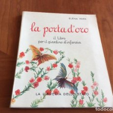 Libros de segunda mano: CALIGRAFÍA PARA NIÑ@S ITALIAN@S. Lote 116133219