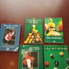 Libros de segunda mano: COLECCIÓN LIBRO DE BILLAR POOL. Lote 116157439