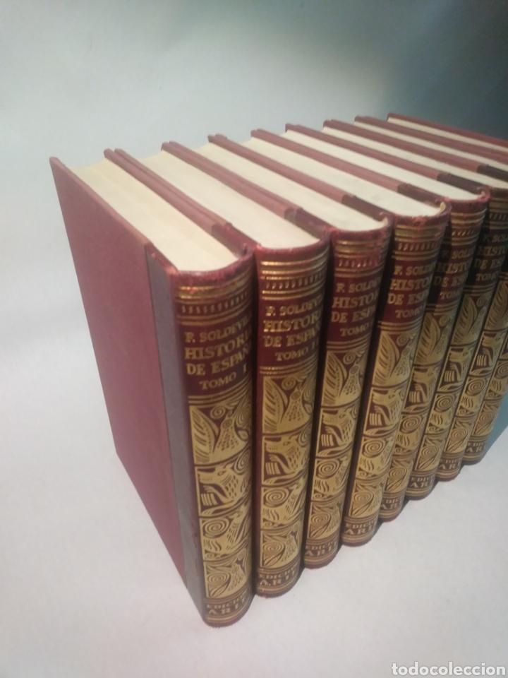 Libros de segunda mano: HISTORIA DE ESPAÑA. F. SOLDEVILA. EDIT ARIEL - Foto 3 - 116115147
