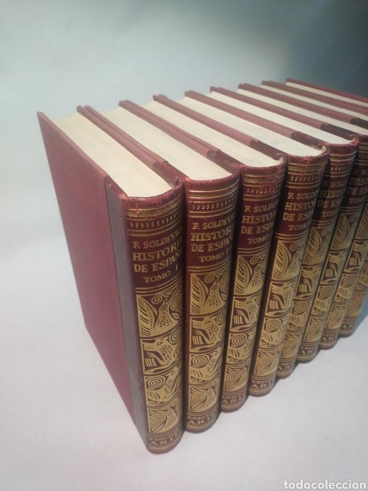 Libros de segunda mano: HISTORIA DE ESPAÑA. F. SOLDEVILA. EDIT ARIEL - Foto 4 - 116115147