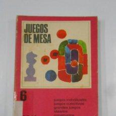 Libros de segunda mano: JUEGOS DE MESA. 100 IDEAS. IDEARLOS, CONSTRUIRLOS, JUGARLOS. TDK322. Lote 116166179