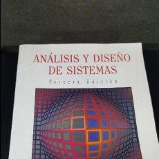 Libros de segunda mano: ANALISIS Y DISEÑO DE SISTEMAS.KENDALL. Lote 116170279