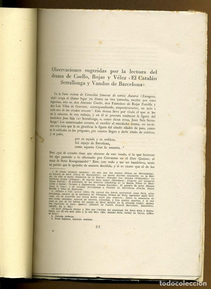 Libros de segunda mano: EL CATALAN SERRALLONGA Y VANDOS DE BARCELONA - JUAN GIVANEL MAS - Foto 2 - 116204887