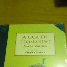 Libros de segunda mano: A OCA DE LEONARDO, RAMÓN LOUREIRO. Lote 116287139