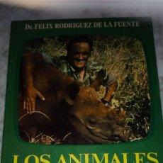 Libros de segunda mano: LOS ANIMALES EN SU MEDIO AMBIENTE - FELIX RODRIGUEZ DE LA FUENTE. Lote 116301799