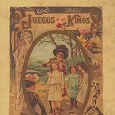 Libros de segunda mano: JUEGOS DE LOS NIÑOS EN LAS ESCUELAS Y COLEGIOS - P.SANTOS HERNÁNDEZ S.J.. Lote 116368811