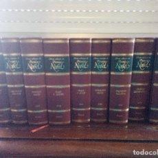 Libros de segunda mano: COLECCIÓN OBRAS SELECTAS DE PREMIOS NOBEL (PLANETA) - 9 TOMOS. Lote 116390175