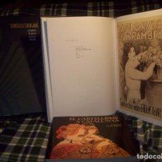 Libros de segunda mano: CARTELLS CATALANS.LA REPÚBLICA.ELS ANYS DE LA CONSTRUCCIÓ ( 1930-1936) + EL CARTELISME A CATALUNYA.. Lote 116395243