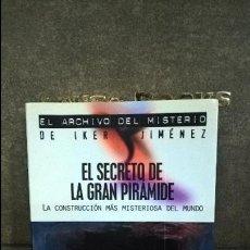 Libros de segunda mano: EL SECRETO DE LA GRAN PIRAMIDE: LA CONSTRUCCION MAS MISTERIOSA DEL MUNDO. MANUEL J. DELGADO. IKER JI. Lote 116456055
