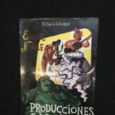 Libros de segunda mano: HUMOR. EDGAR NEVILLE. PRODUCCIONES GARCÍA, S.A. TAURUS. MADRID,1956. 1ª EDICIÓN.. Lote 116470047