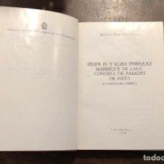 Libros de segunda mano: FELIPEIV ESCRITOR DE CARTAS(38€). Lote 116489967