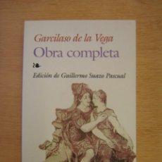 Libros de segunda mano: OBRA COMPLETA - GARCILASO DE LA VEGA. Lote 116554667