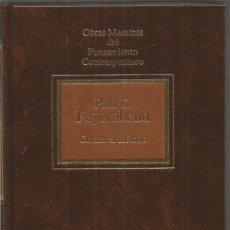 Libri di seconda mano: PAUL K. FEYERABEND. CONTRA EL METODO. PLANETA-AGOSTINI. Lote 116559803