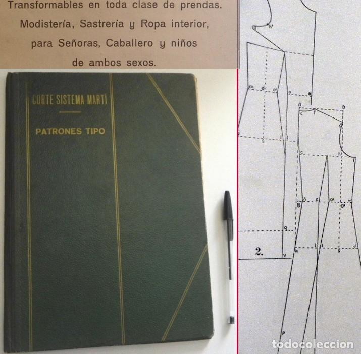 a60044812 Corte sistema martí - patrones tipo - libro sas - Vendido en Subasta ...