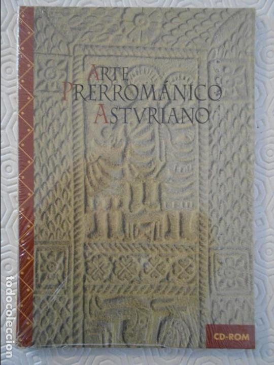 ARTE PRERROMANICO ASTURIANO. CD-ROM. NUEVO A ESTRENAR. EDICIONES NOBEL. (Libros de Segunda Mano - Bellas artes, ocio y coleccionismo - Otros)