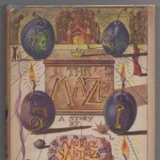 Libros de segunda mano: THE MAZE. A STORY BY MAURICE SANDOZ. ILLUSTRATED BY DALI.. Lote 116643379