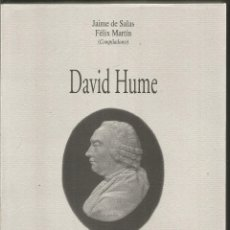 Libros de segunda mano: JAIME DE SALAS. FELIX MARTIN. DAVID HUME. EDITORIAL COMPLUTENSE. Lote 244536405