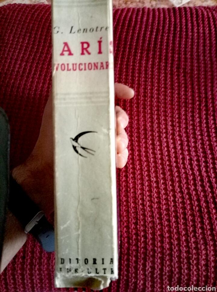 Libros de segunda mano: PARIS REVOLUCIONARIO.- G.LENOTRE.-EDIT. PLUS-ULTRA.AÑO 1947. CON 52 ILUSTRACIONES - Foto 3 - 116763095
