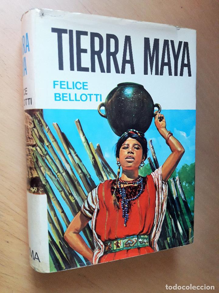 TIERRA MAYA - BELLOTTI, FELICE (Libros de Segunda Mano - Historia - Otros)