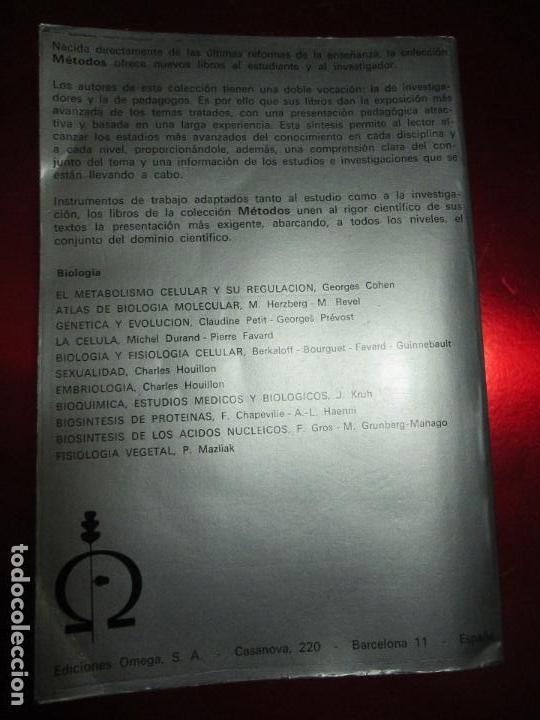 Libros de segunda mano: libro-genética y evolución-c.petit-g.prevost-1976-4ªedición-muy buen estado-ver fotos - Foto 4 - 116873011
