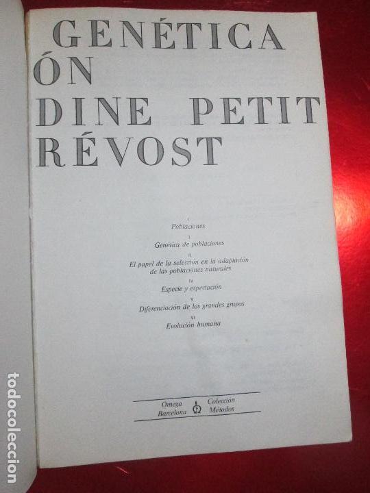 Libros de segunda mano: libro-genética y evolución-c.petit-g.prevost-1976-4ªedición-muy buen estado-ver fotos - Foto 10 - 116873011