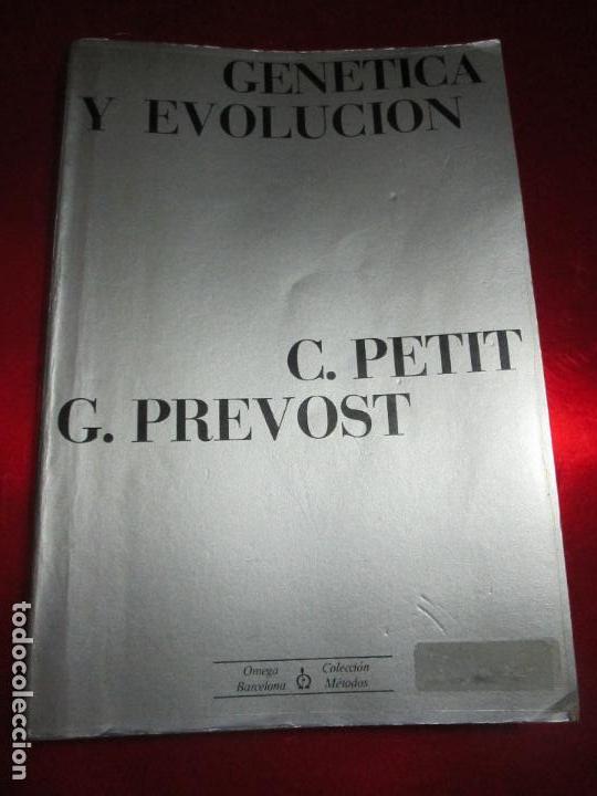 Libros de segunda mano: libro-genética y evolución-c.petit-g.prevost-1976-4ªedición-muy buen estado-ver fotos - Foto 13 - 116873011