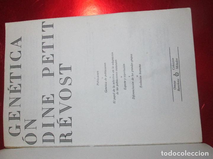 Libros de segunda mano: libro-genética y evolución-c.petit-g.prevost-1976-4ªedición-muy buen estado-ver fotos - Foto 23 - 116873011