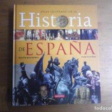 Libros de segunda mano: LIBRO ATLAS ILUSTRADO DE LA HISTORIA DE ESPAÑA SUSAETA . Lote 116915423