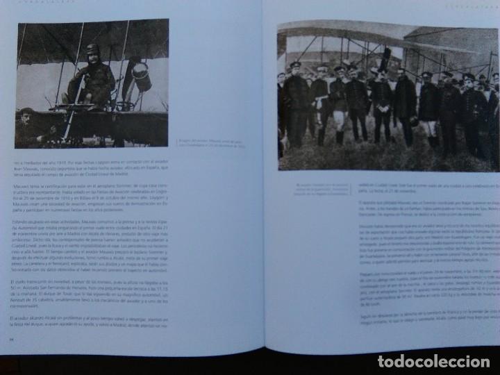 Libros de segunda mano: ANTIGUO LIBRO LOS PRIMEROS VUELOS Y AERÓDROMOS EN LAS CAPITALES ESPAÑOLAS - MUCHÍSIMAS FOTOGRAFÍAS - Foto 4 - 116958591