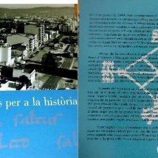 Libros de segunda mano: SALT, DOCUMENTS PER A LA HISTÒRIA. Lote 117039651