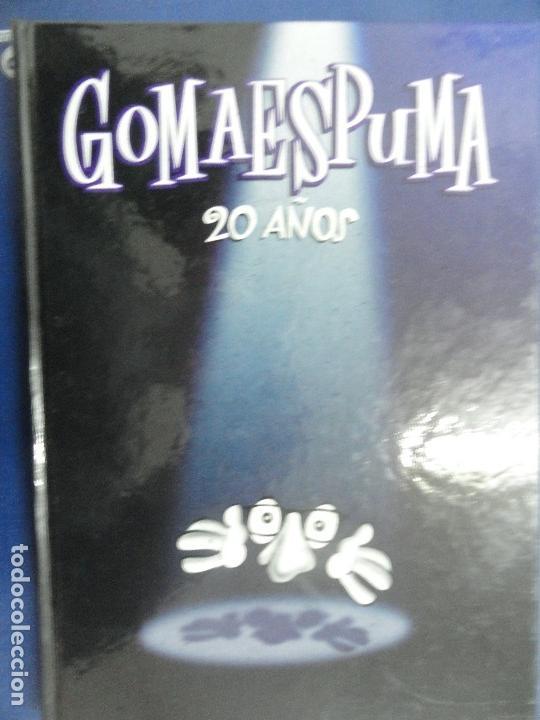 GOMAESPUMA 20 AÑOS - CURRA FERNÁNDEZ Y NURIA SERENA (Libros de Segunda Mano - Literatura Infantil y Juvenil - Otros)