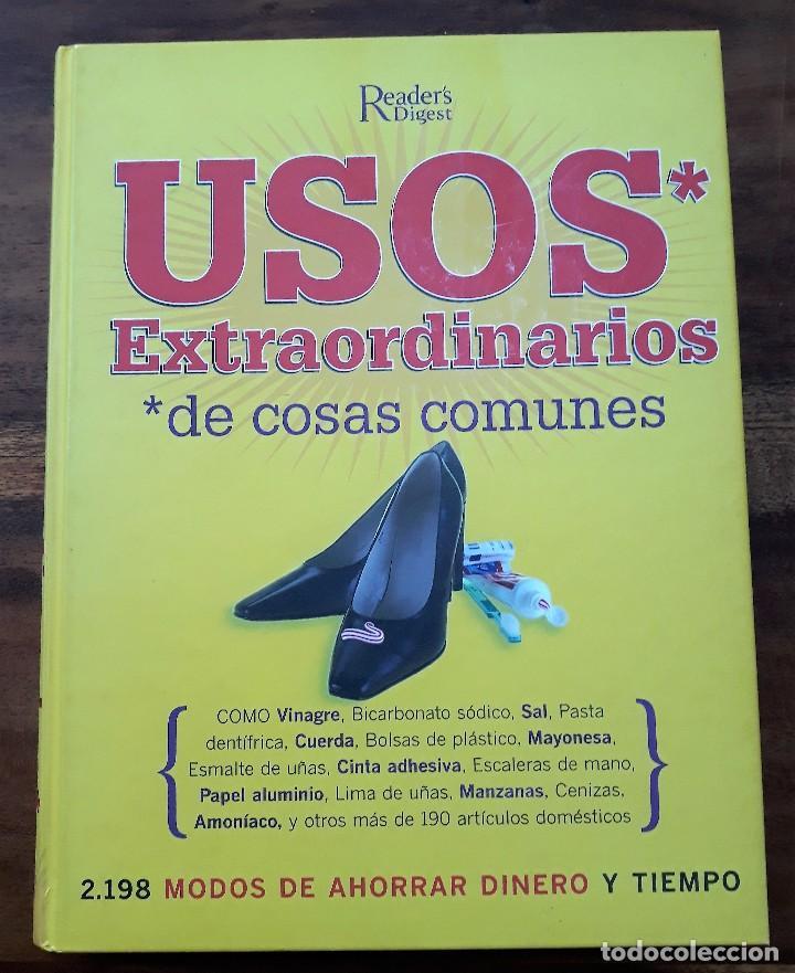 libro usos extraordinarios de cosas comunes. - Comprar en ...