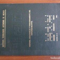 Libros de segunda mano: HISTORIA, DESARROLLO Y FUNCIONAMIENTO DEL MERCADO DEL ARTE -- ANDRÉS BURZACO MALO -- FIRMADO. Lote 195437370