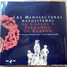 Libros de segunda mano: LAS MANUFACTURAS NAPOLITANAS DE CARLOS Y FERNANDO DE BORBON ENTRE ROCOCÓ Y NEOCLASICISMO. Lote 117224891