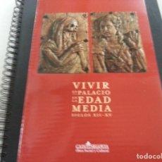 Libros de segunda mano: VIVIR EN PALACIO EN LA EDAD MEDIA. SIGLOS XII-XV-CCC.. Lote 117229019