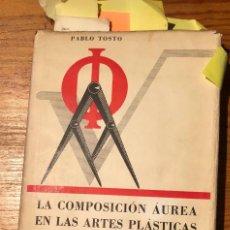 Libros de segunda mano: LA COMPOSICIÓN ÁUREA EN LAS ARTES PLÁSTICAS(41€). Lote 117236183